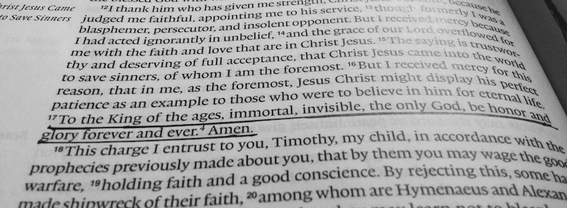Featured Image for An Awesome Prayer from 1 Timothy