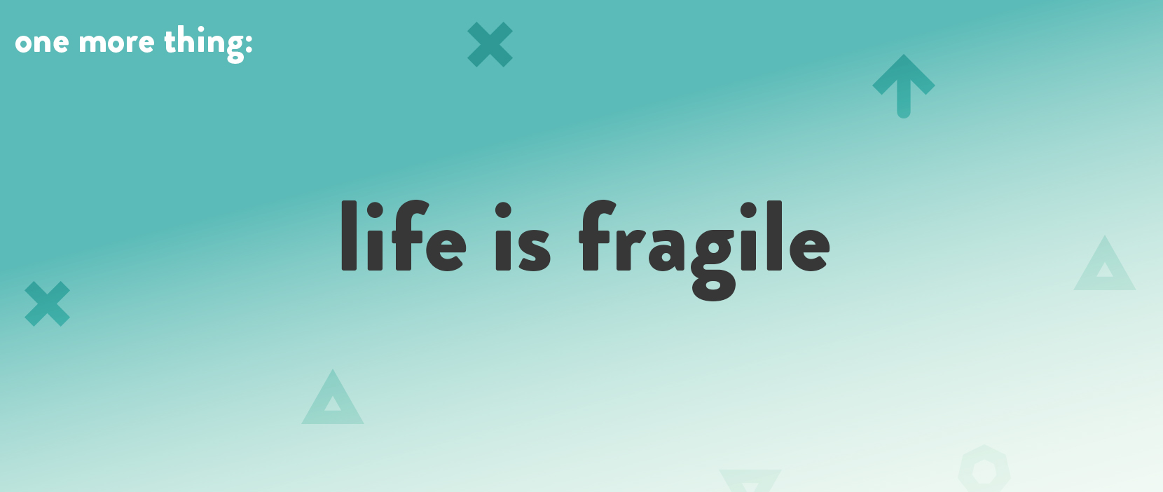 Main image for Life Is Fragile