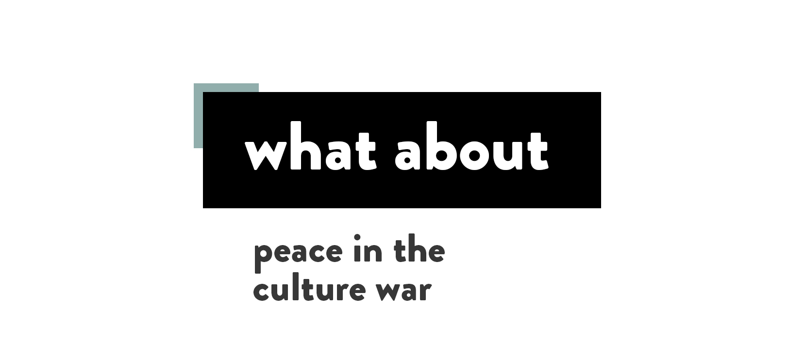 Main image for Peace In The Culture War