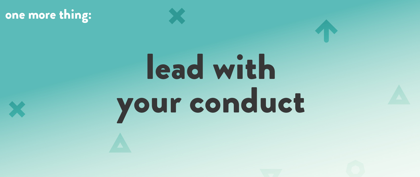 Main image for Lead With Your Conduct