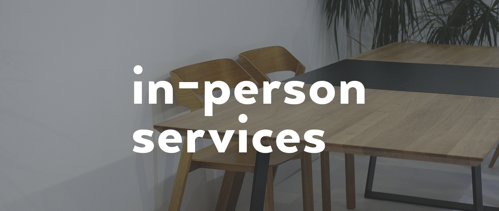 Main image for In-Person Services