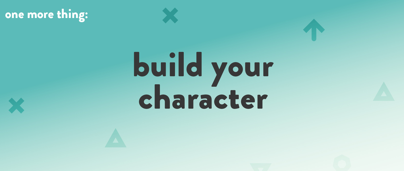 Featured Image for Build Your Character
