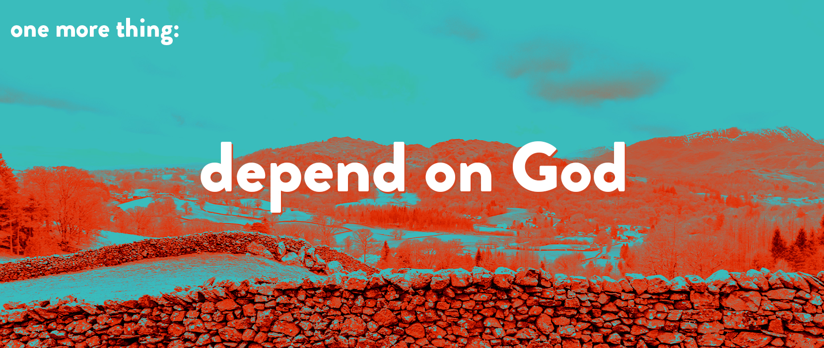 Main image for Depend on God