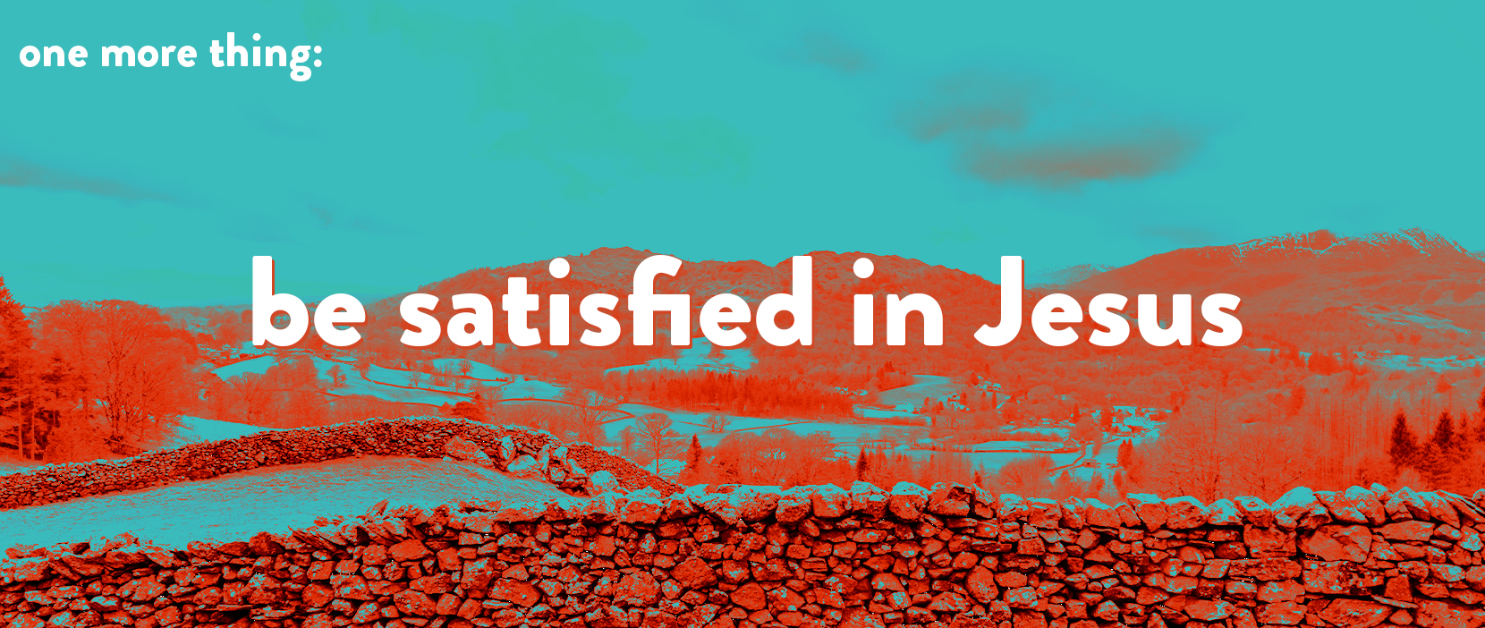 Main image for Be Satisfied in Jesus