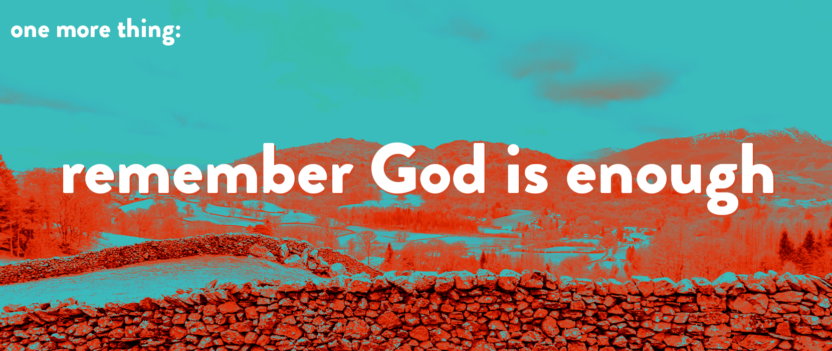 Main image for Remember God Is Enough