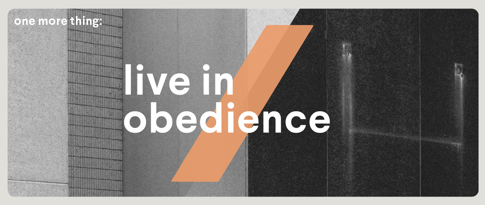 Main image for Live In Obedience