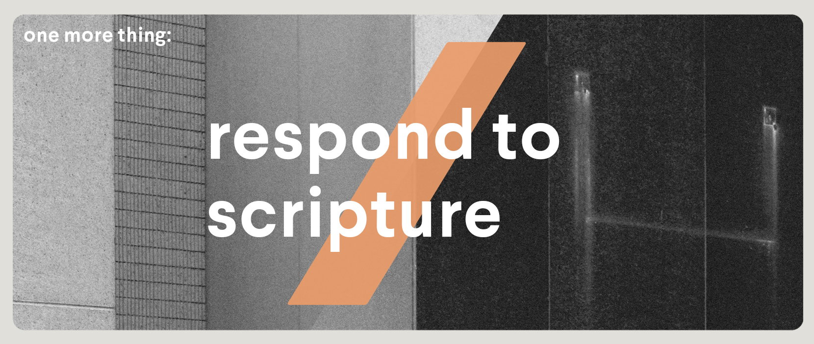 Main image for Respond To Scripture