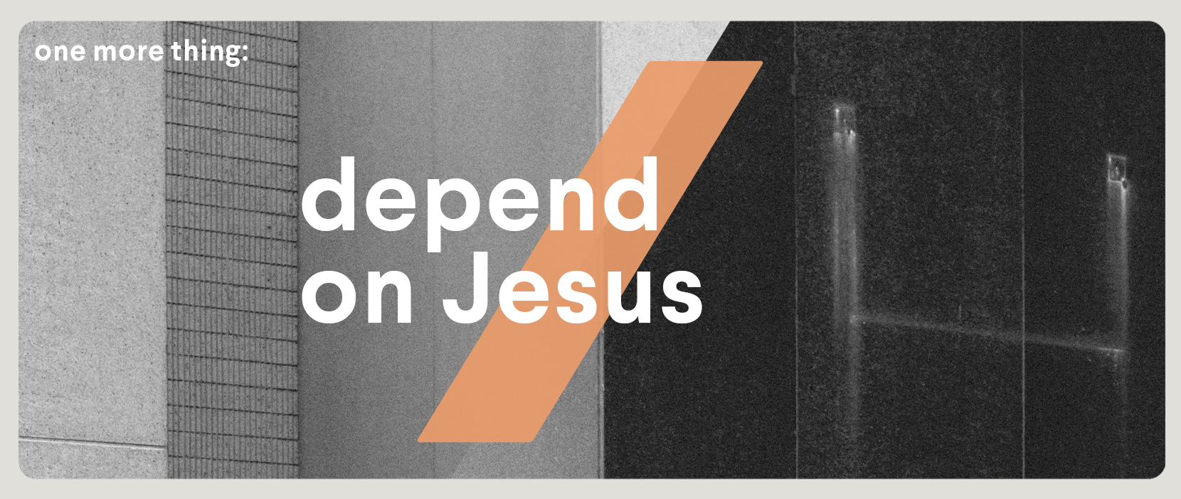 Main image for Depend On Jesus
