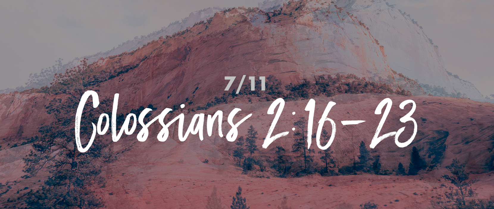 Main image for Part 7 – Colossians 2:16-23